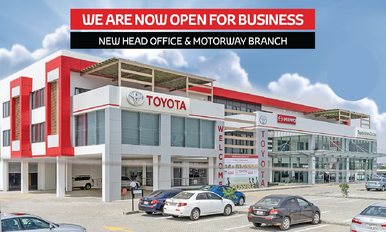 Toyota Ghana Branches, Vehicles, Services, Contact